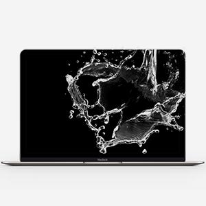 Macbook-Wasserschaden