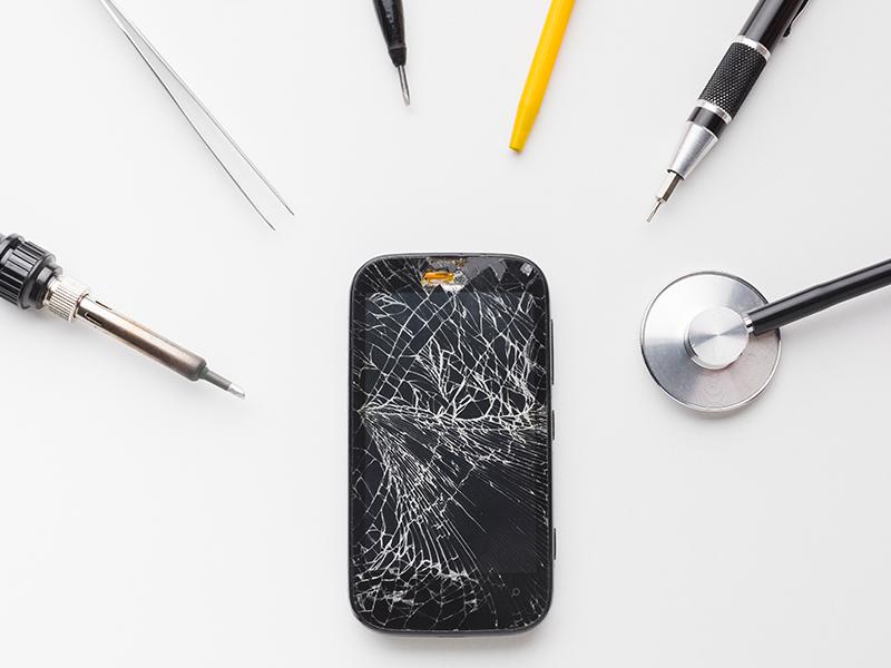 iPhone Glas Reparatur