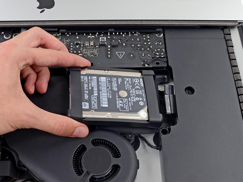 iMac Umbau Festplatte